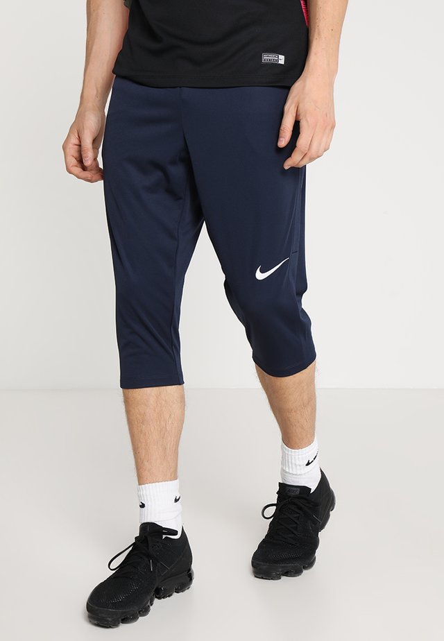 DRY ACADEMY18 PANT - 3/4 sports trousers - obsidian/white