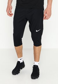 Nike Performance - DRY ACADEMY18 PANT - Pantalón 3/4 de deporte - black/white - 0
