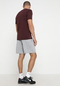 Nike Performance - DRY SHORT  - Träningsshorts - grey heather/black - 2