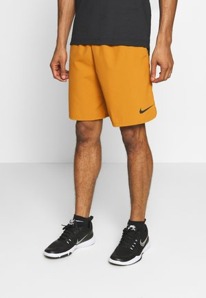 SHORT - Träningsshorts - wheat/black