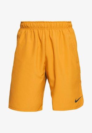 SHORT - Sports shorts - wheat/black