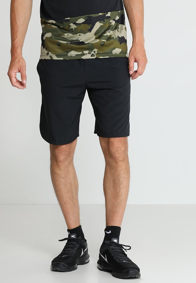 SHORT - Sports shorts - black/dark grey
