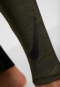 Nike Performance - Punčochy - cargo khaki/black - 7