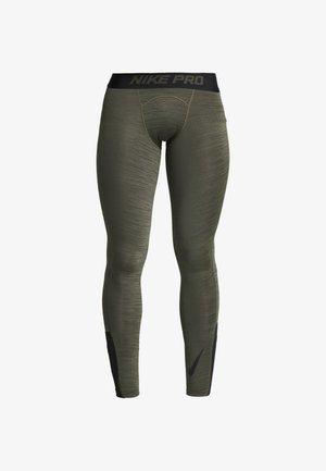 Leggings - cargo khaki/black