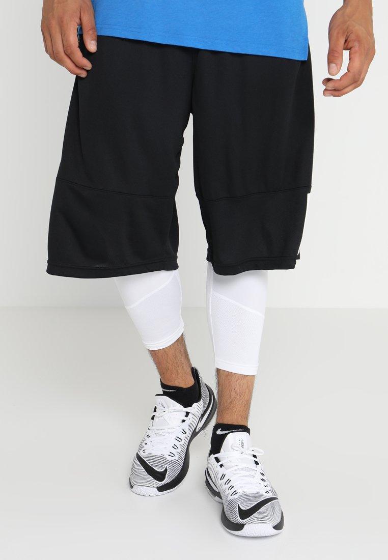 Nike Performance - DRY BASKETBALL - Tights - white/black