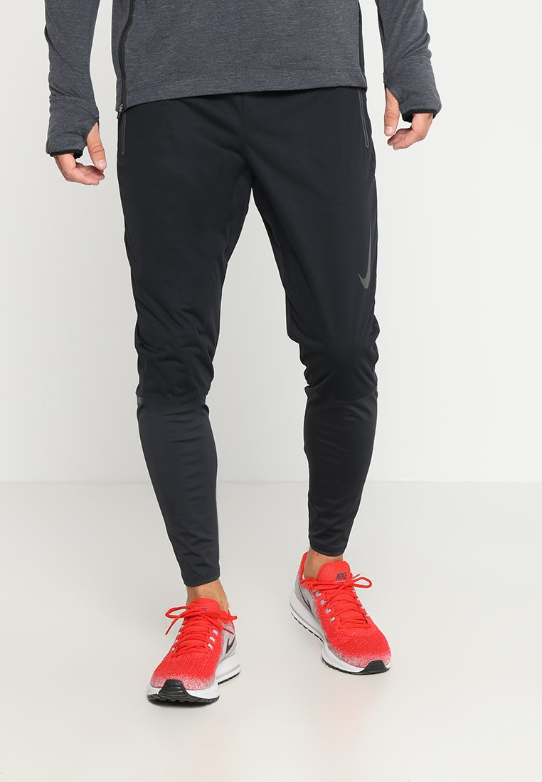 Nike Performance - SHIELD SWIFT RUNNING PANT - Pantalones deportivos - black/reflective silver