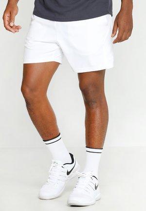 DRY SHORT - kurze Sporthose - white