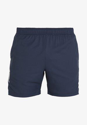 DRY SHORT - Pantalón corto de deporte - obsidian/white