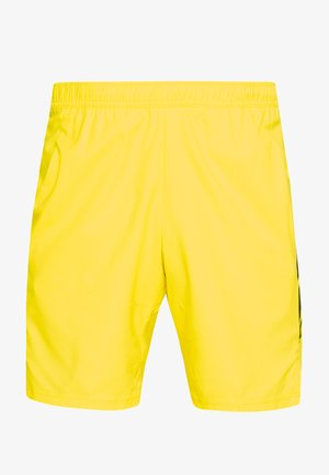 DRY SHORT - Sports shorts - opti yellow/off noir
