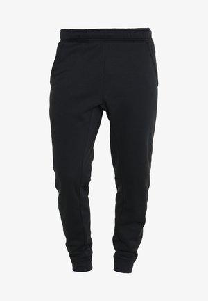 THERMA PANT TAPER - Verryttelyhousut - black/white