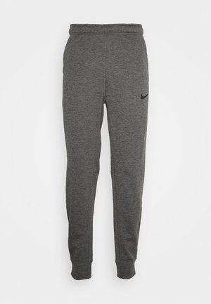 PANT TAPER - Træningsbukser - charcoal heather/black