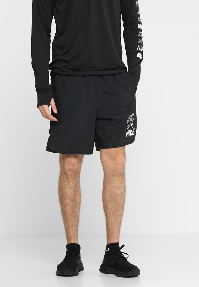 Nike Performance - CHALLENGER SHORT - Korte broeken - black/white