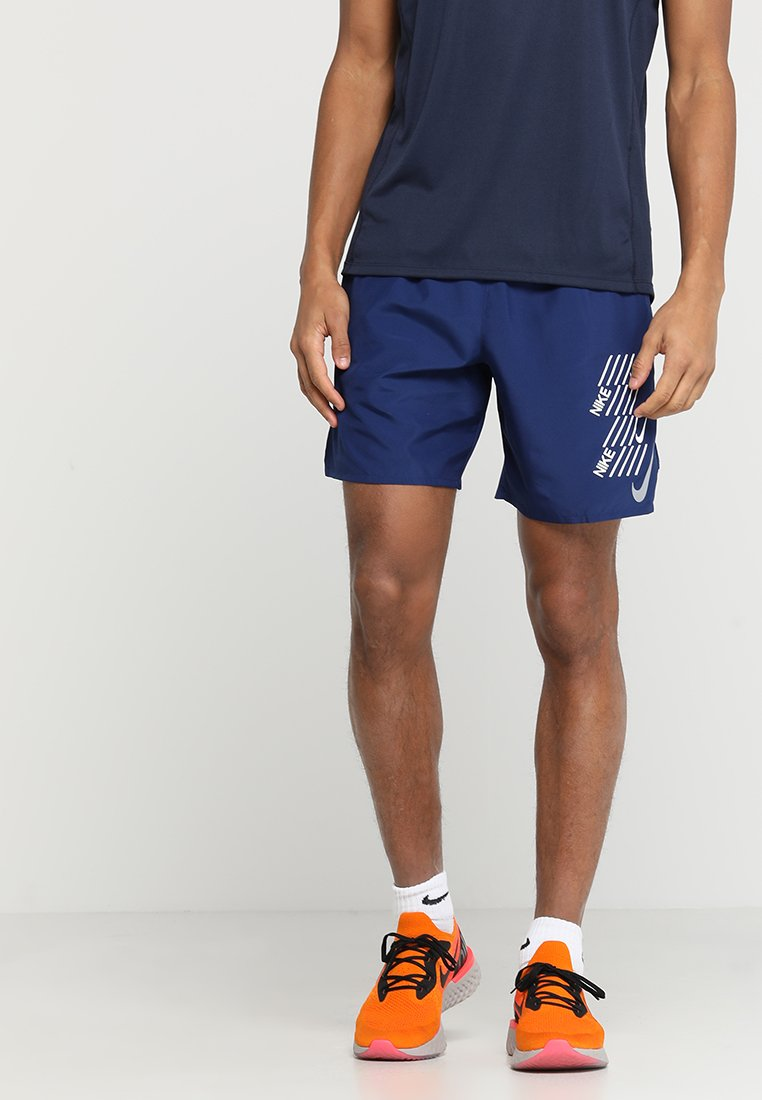 Nike Performance - SHORT - Pantalón corto de deporte - blue void/white