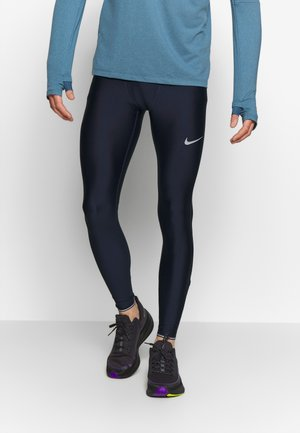 RUN MOBILITY  - Tights - obsidian/reflective silver