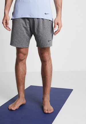 DRY SHORT - Träningsshorts - black/heather