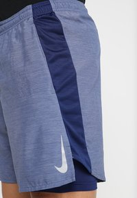 Nike Performance - SHORT  - Sports shorts - blue void/heather - 5