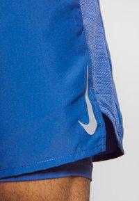 Nike Performance - SHORT - Pantalón corto de deporte - pacific blue/reflective silver - 5