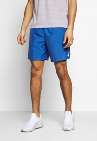 Nike Performance - SHORT - Pantalón corto de deporte - pacific blue/reflective silver - 0