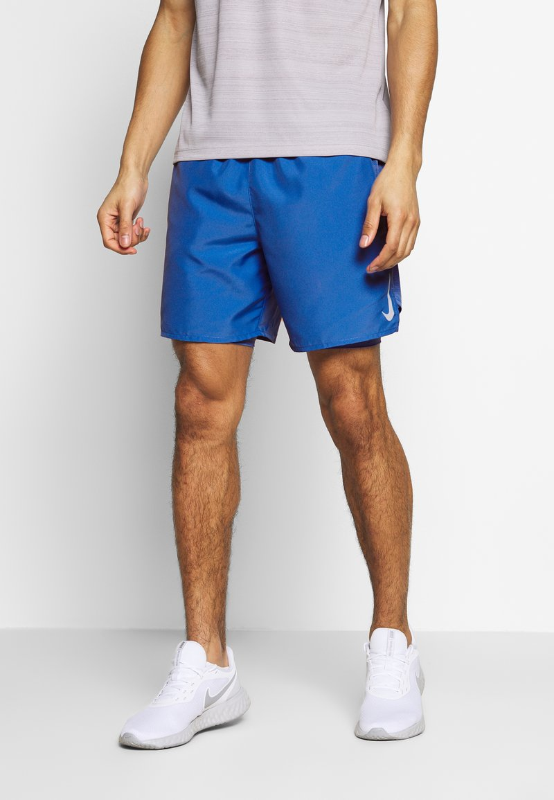 Nike Performance - SHORT - kurze Sporthose - pacific blue/reflective silver