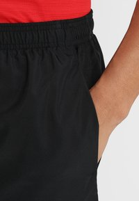 Nike Performance - CHALLENGER - Sports shorts - black/black/reflective silver - 5