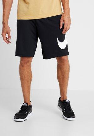 DRY SHORT - Pantalón corto de deporte - black/white