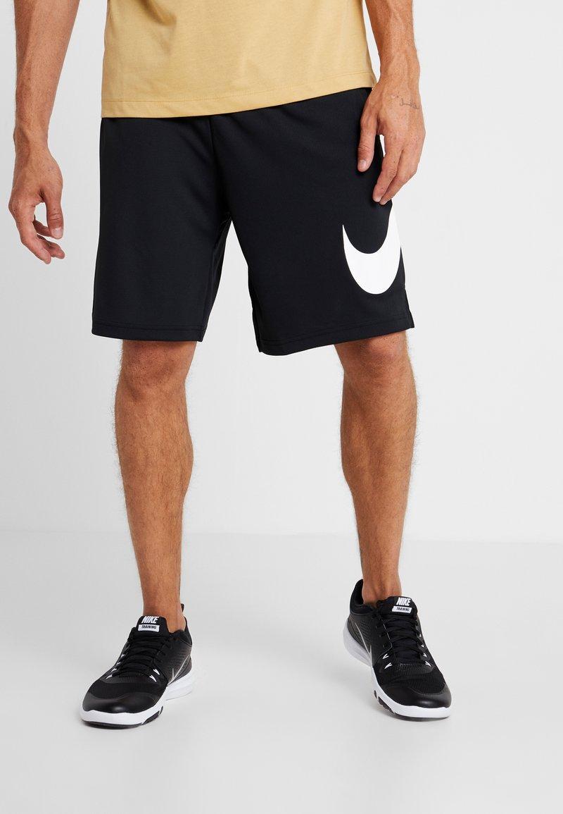 Nike Performance - DRY SHORT - Träningsshorts - black/white