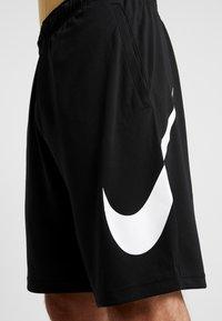 Nike Performance - DRY SHORT - Träningsshorts - black/white - 4