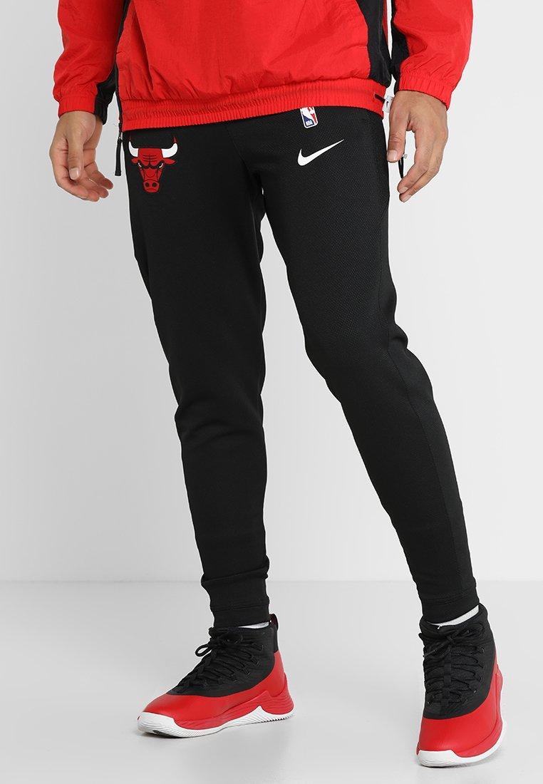 NBA CHICAGO BULLS THERMAFLEX SHOWTIME PANT Pantalon de survêtement blackanthracite