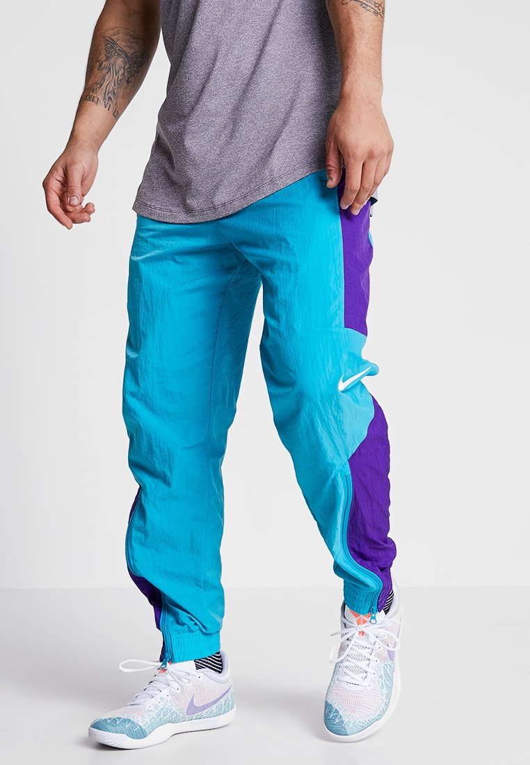 Nike Performance - RETRO PANT  - Pantaloni sportivi - rapid teal/field purple/white