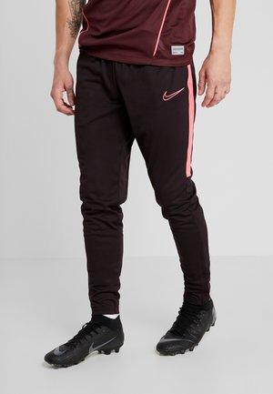 DRY PANT - Jogginghose - burgundy ash/racer pink