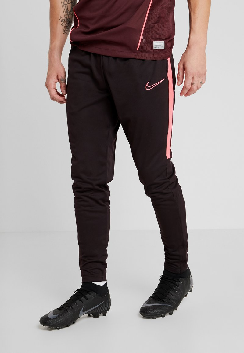 Nike Performance - DRY PANT - Tracksuit bottoms - burgundy ash/racer pink