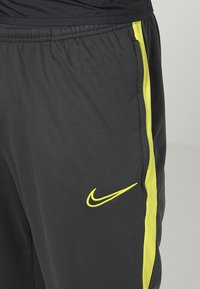 Nike Performance - DRY PANT - Verryttelyhousut - anthracite/opti yellow - 5