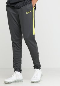 Nike Performance - DRY PANT - Verryttelyhousut - anthracite/opti yellow - 0