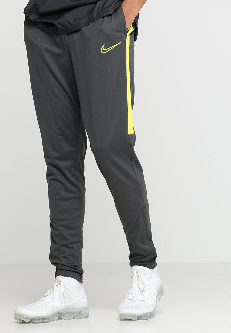 Nike Performance - DRY PANT - Verryttelyhousut - anthracite/opti yellow