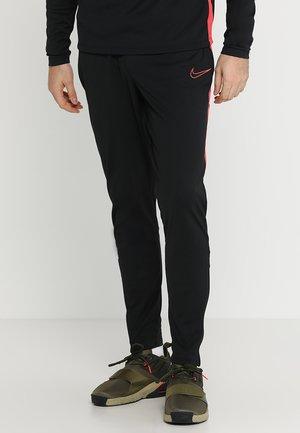 DRY PANT - Pantalones deportivos - black/ember glow
