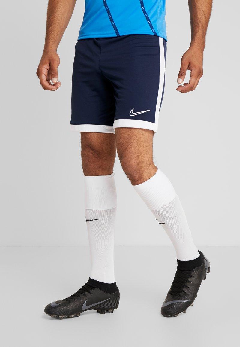 Nike Performance - DRY ACADEMY SHORT  - Korte sportsbukser - obsidian/white