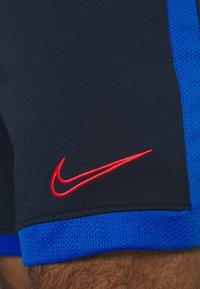 Nike Performance - DRY ACADEMY SHORT  - Krótkie spodenki sportowe - obsidian/soar/laser crimson - 5