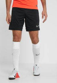 Nike Performance - DRY ACADEMY SHORT  - Träningsshorts - black/white - 2