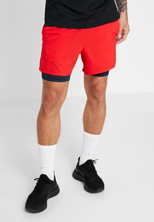 STRIDE SHORT  - Träningsshorts - university red/obsidian/reflective silver