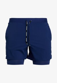 Nike Performance - STRIDE SHORT  - Träningsshorts - blue void/blue void/silver - 4