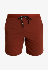 Nike Performance - STRIDE SHORT  - Träningsshorts - cinnamon/sanded purple/reflective silver - 4