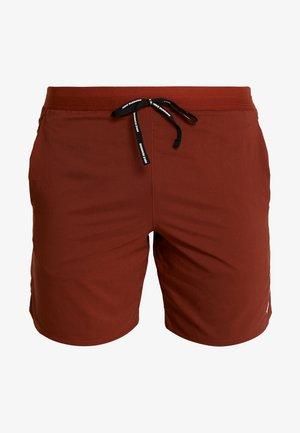 STRIDE SHORT  - Pantalón corto de deporte - cinnamon/sanded purple/reflective silver