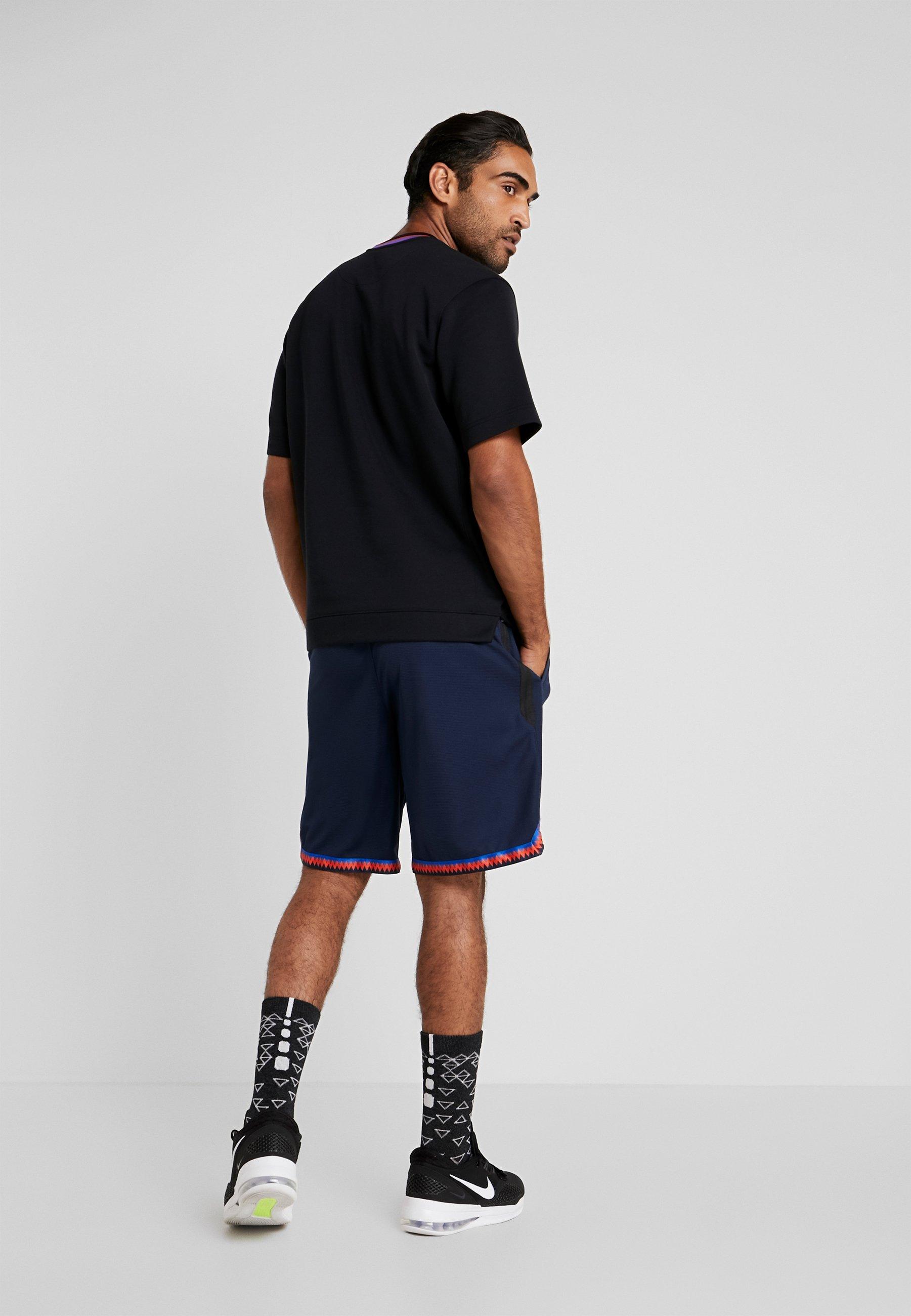 Nike Performance DRY DNA SHORT 2.0 - Krótkie spodenki sportowe - obsidian/team orange