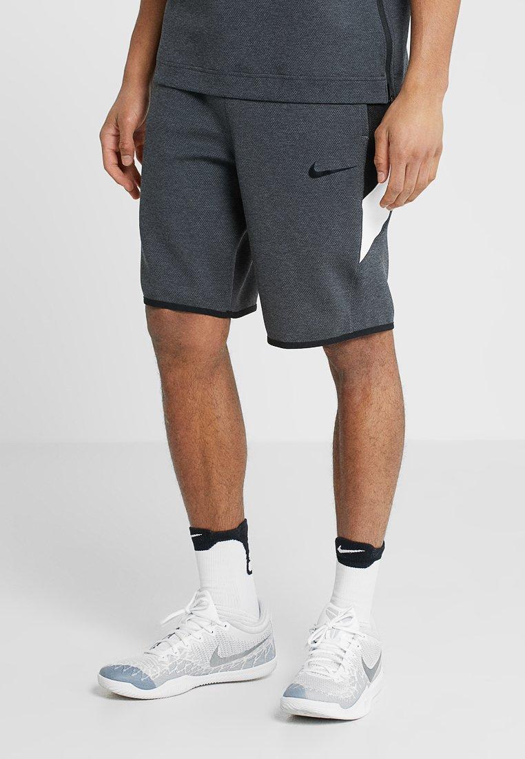 Nike Performance - THERMAFLEX SHOWTIME SHORT - Sports shorts - black heather/black