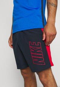 Nike Performance - DRY ACADEMY SHORT - Sports shorts - obsidian/university red/university red - 3