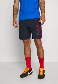 Nike Performance - DRY ACADEMY SHORT - Sports shorts - obsidian/university red/university red - 0