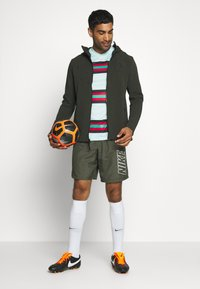 Nike Performance - DRY ACADEMY SHORT - Sports shorts - cargo khaki/cargo khaki/white - 1
