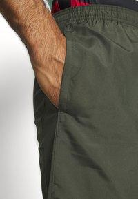 Nike Performance - DRY ACADEMY SHORT - Sports shorts - cargo khaki/cargo khaki/white - 3
