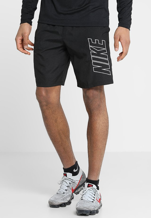 DRY ACADEMY SHORT - Sports shorts - black/white
