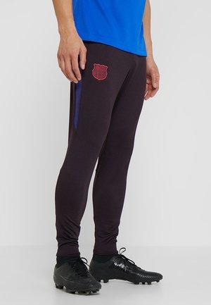 FC BARCELONA DRY PANT - Klubové oblečení - burgundy ash/deep royal blue/noble red